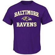 Big & Tall Majestic Baltimore Ravens Heart and Soul III Tee