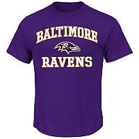 Big & Tall Majestic Baltimore Ravens Heart and Soul III Tee