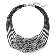 GS by gemma simone Molten Metals Collection Cain Multirow Necklace