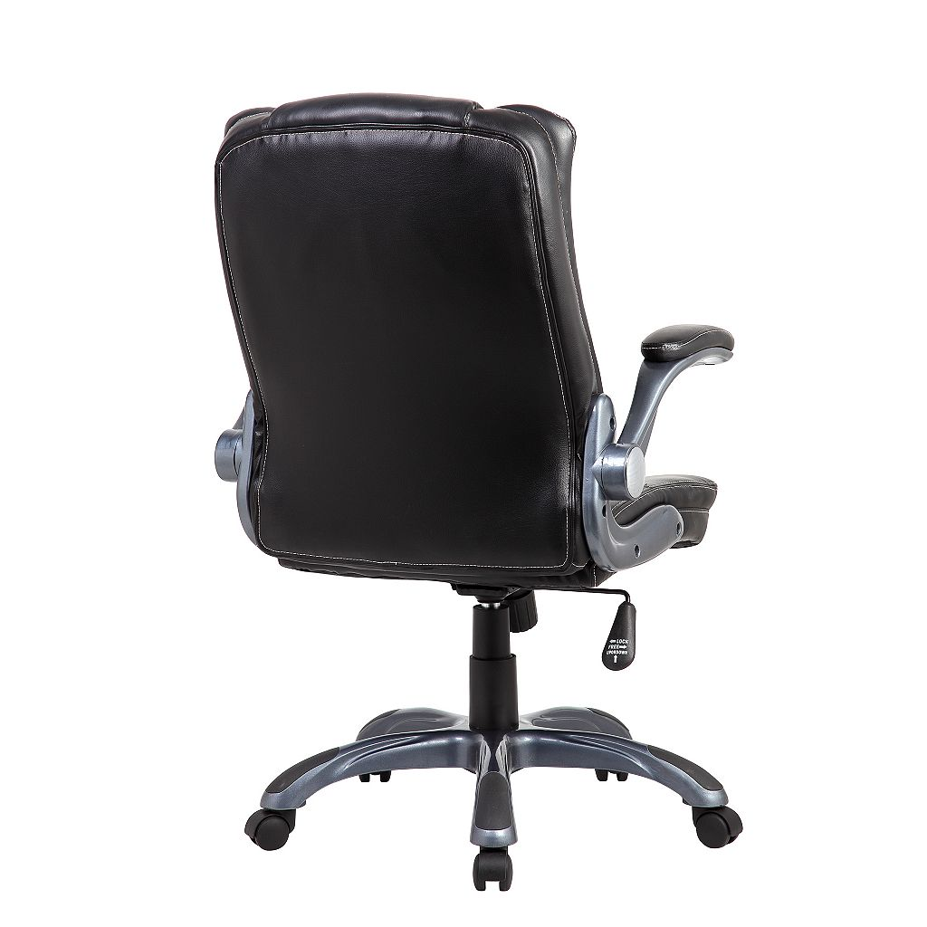 Techni Mobili Medium Back Manager Desk Chair