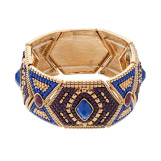GS by gemma simone Earth Goddess Collection Stretch Bracelet