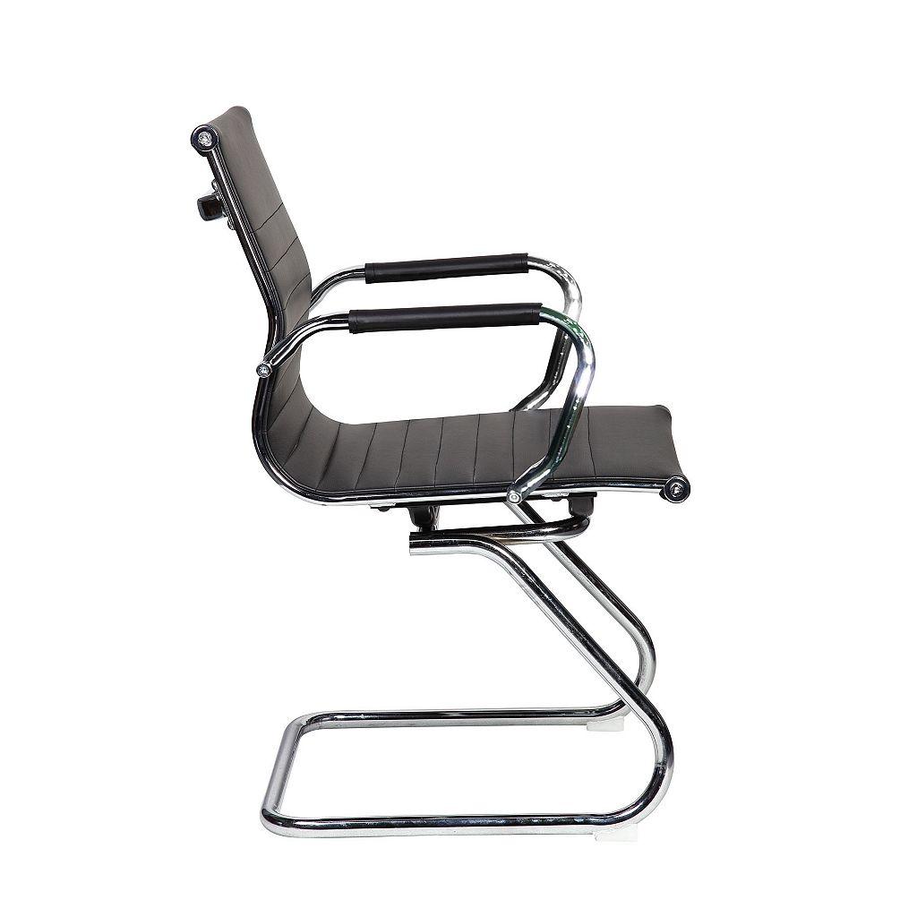 Techni Mobili Modern Chrome Desk Chair