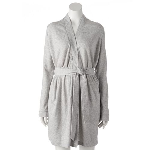 Women s SONOMA Goods for Life™ Starry Nights Double-Knit Wrap Robe bc042f02e
