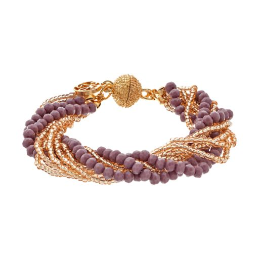 GS by gemma simone Earth Goddess Collection Bead Multistrand Bracelet