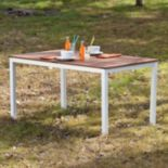 Magar Outdoor Rectangular Table
