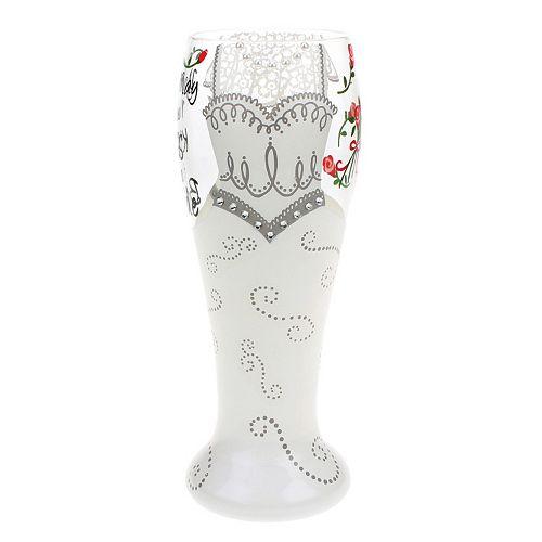 Top Shelf 24-oz. Pilsner Bride Glass