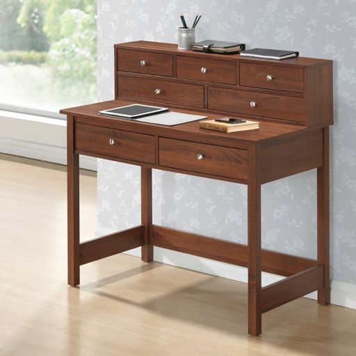 Techni Mobili Elegant Storage Desk