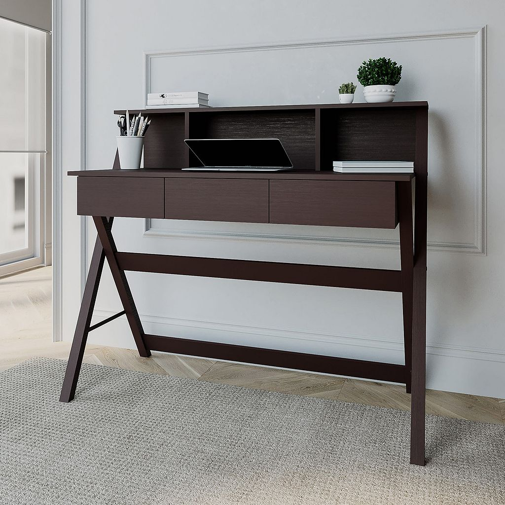 Techni Mobili Fashionable Workstation Computer Desk