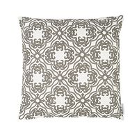 Mockingbird Floral Throw Pillow