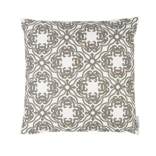 Mockingbird Floral Throw Pillow