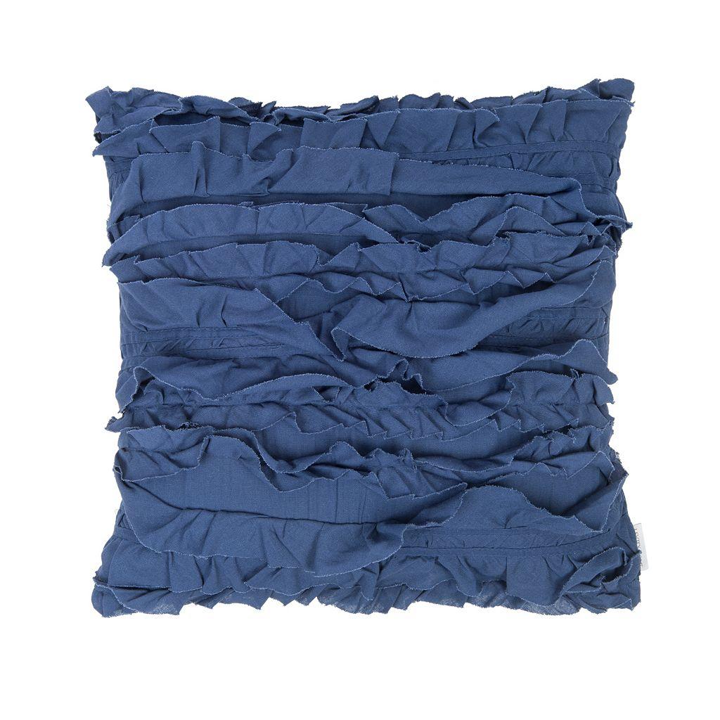 Mockingbird Petunia Throw Pillow