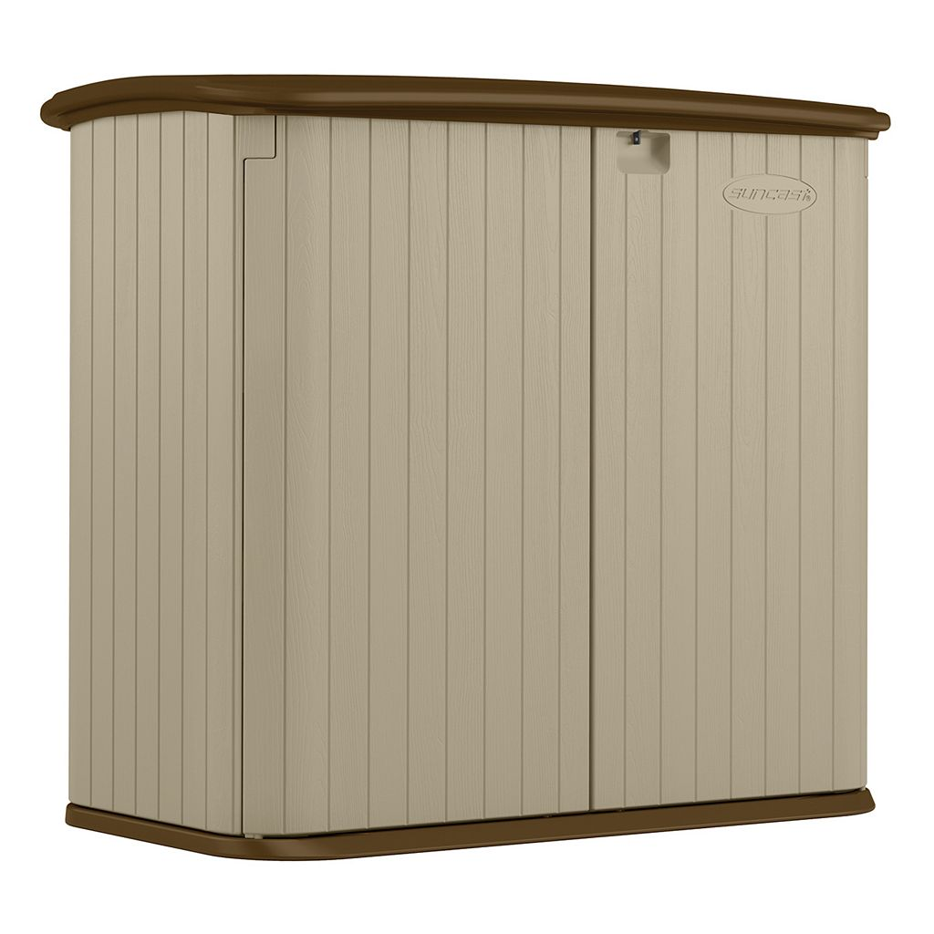 Suncast Horizontal Outdoor Storage Shed