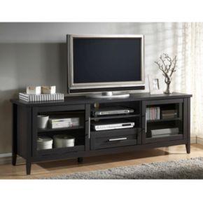 Baxton Studio Espresso TV Stand