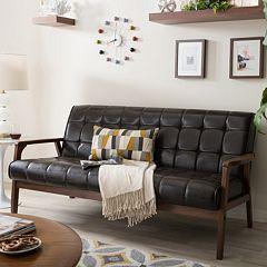 Baxton Studio Mid-Century Masterpieces Sofa