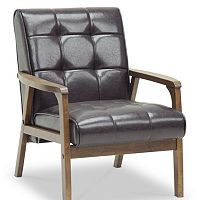 Baxton Studio Mid-Century Masterpieces Club Chair