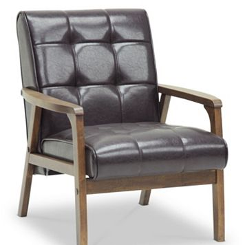 Baxton Studio Mid-Century Masterpieces Club Chair