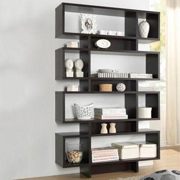 Baxton Studio Cassidy Tall Bookshelf