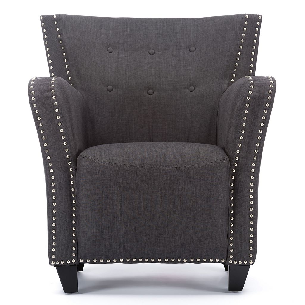 Baxton Studio Acton French Accent Chair