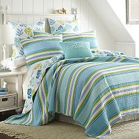 Cozumel Reversible Quilt Set