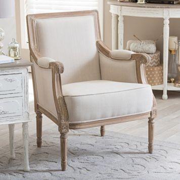 Baxton Studio Chavanon Accent Arm Chair