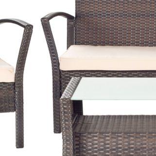 Safavieh Avaron 4-piece Outdoor Furniture Set