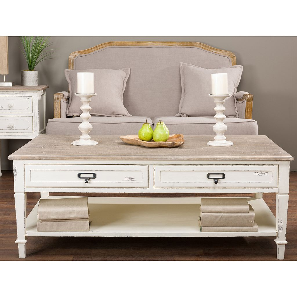 Baxton Studio Dauphine French Accent Coffee Table