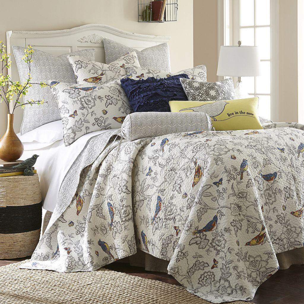 Mockingbird Reversible Quilt Set