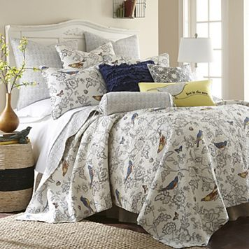 Mockingbird Reversible Quilt Set