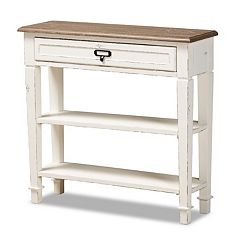 Baxton Studio Dauphine French Accent Console Table