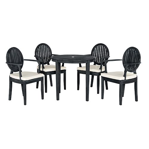 Safavieh Chino Indoor / Outdoor Dining Table & Chair 5-piece Set