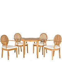 Safavieh Chino 5-piece Outdoor Dining Set
