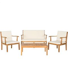 Safavieh Bradbury 4 pc Outdoor Living Set