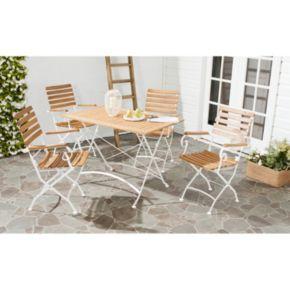 Safavieh Lawndale 5-piece Outdoor Dining Set