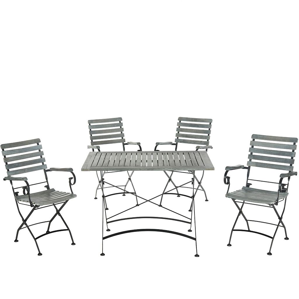 Safavieh Lawndale 5-piece Outdoor Dining Set