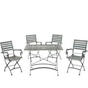 Safavieh Lawndale 5 pc Outdoor Dining Set