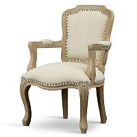Baxton Studio Poitou French Accent Chair