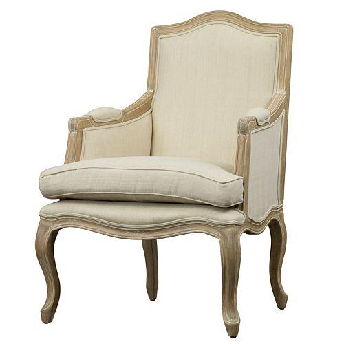 Baxton Studio Nivernais French Accent Chair