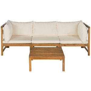 Safavieh Lynwood Indoor / Outdoor Sectional Sofa 3-piece Set