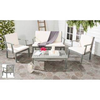Safavieh Del Mar 4-piece Outdoor Set