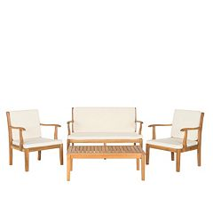 Safavieh Del Mar 4 pc Outdoor Set