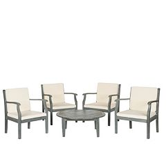 Safavieh Colfax 5 pc Coffee Table Outdoor Set