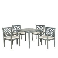 Safavieh Bradbury 5 pc Outdoor Dining Set