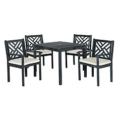 Safavieh Bradbury Indoor / Outdoor Dining Table & Chair 5-piece Set