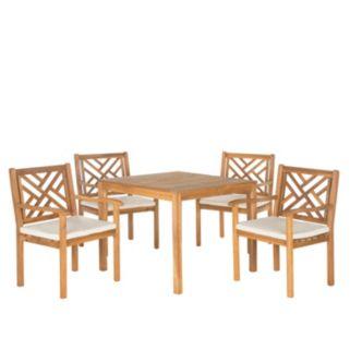 Safavieh Bradbury 5-piece Outdoor Dining Set