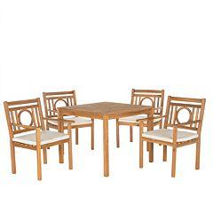 Safavieh Montclair 5 pc Outdoor Dining Set