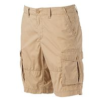 Men's SONOMA Goods for Life™ Lightweight Herringbone Solid Cargo Shorts