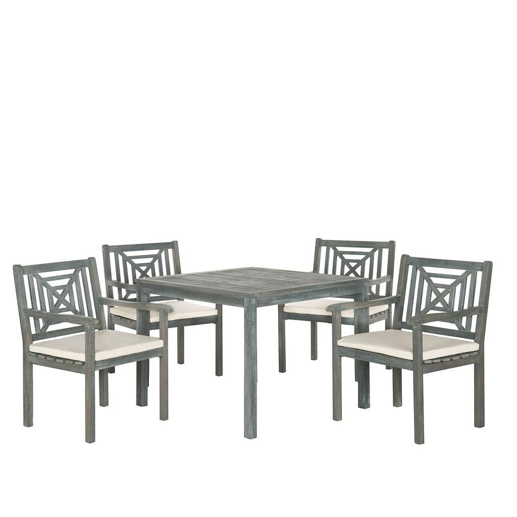Safavieh Del Mar 5-piece Outdoor Dining Set