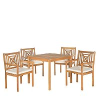 Safavieh Del Mar 5-piece Outdoor Dining Set