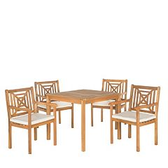 Safavieh Del Mar 5 pc Outdoor Dining Set