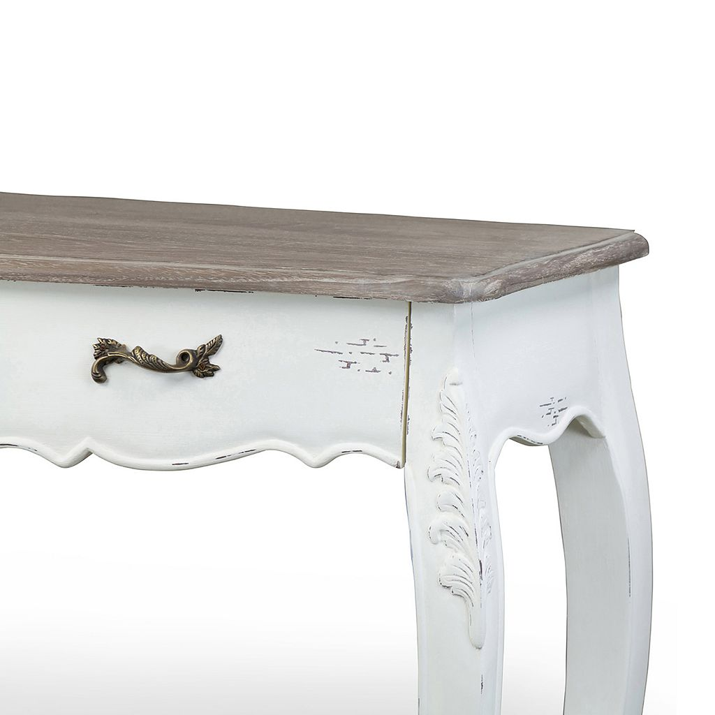 Baxton Studio Bourbonnais French Console Table